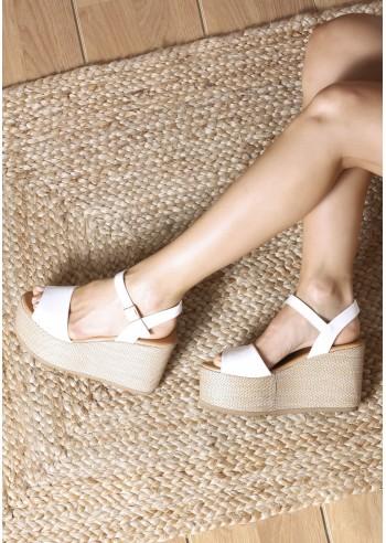 Sandalia adele blanco