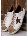 Zapatillas deportivas Estrella Chocolate