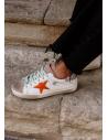 Zapatillas Deportivas Estrella Naranja